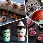 Блюда на Хэллоуин: простые и традиционные рецепты с фото; Рецепты на Хэллоуин простые и страшные, как украсить блюда на хэллоуин