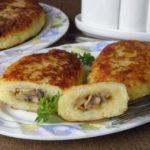 Картофельные зразы с грибами: топ рецептов, как приготовить зразы в духовке и на сковороде