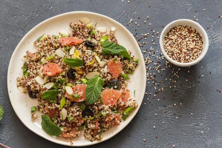 Салат с киноа – интересные вариации необычного блюда: рецепт с фото и видео