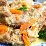 Кролик тушеный в сметане - пошаговые рецепты сочного и вкусного кролика в сметане с пошаговыми фото