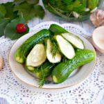 Малосольные огурцы быстрого приготовления — 10+ рецептов чтобы они получились хрустящие и сочные