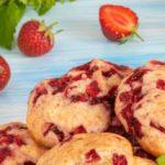 Печенье с клубникой пошаговый рецепт