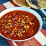 Рецепт острого мексиканского супа с фасолью