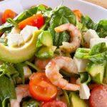 Салат с креветками и авокадо - топ очень вкусных рецептов с фото пошагово