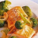 Семга с брокколи пошаговый рецепт быстро и просто