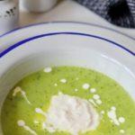 Суп-пюре из цукини с сыром страчателла - пошаговый рецепт с фото