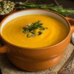 Тыквенный суп с имбирем, рецепты крем-супа